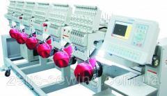 Многоголовочные высокоскоростные вышивальные машины для «рукавной» и «плоской» вышивки Velles VE 1510 HS-CAP