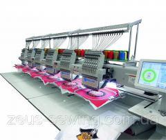 Многоголовочная вышивальная машина для «рукавной» вышивки Velles VE 1508LHS-CAP-W