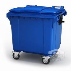 Мусорный контейнер пластиковый 1100 л