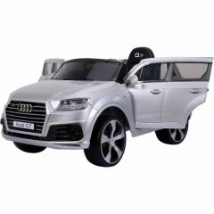 Детский электромобиль Audi Q7 2188 лак серебро
