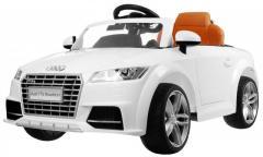 Детский электромобиль Audi TTS белый