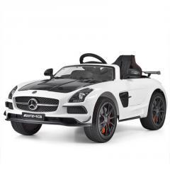 Детский электромобиль Mercedes SLS 812 белый
