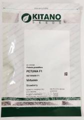 Петуния Вертуоз Стравбери 500с Petunia F1 (Petunia grandiflora) Серия ВИРТУОЗ