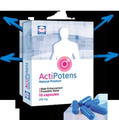 Капсулы для повышения потенции Actipotens (Актипотенс)
