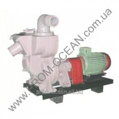 Sewage pump Groundwood Andizhanec (diesel)