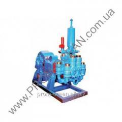 Промышленный насос цементировочный НЦ-320 для установок УНБ