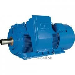 Высоковольтный двигатель HGF 450 900 кВт 1000 об/мин. B3R 6000В