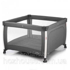 Манеж CARRELLO Cubo CRL-11602 Silver Grey
