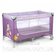 Манеж-кровать CARRELLO Piccolo+ CRL-9201 Purple
