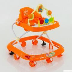Детские музыкальные ходунки модель 258 (оранжевый)
