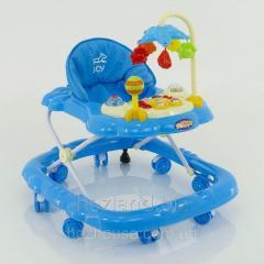 Детские ходунки музыкальные модель D28 (голубой)