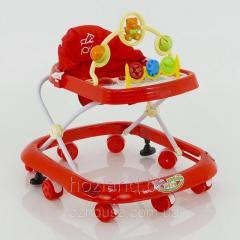 Детские музыкальные ходунки модель 258 (красный)