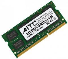 Оперативная память DDR3-1600 4Gb для ноутбука