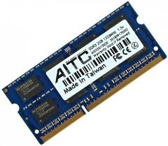 Оперативная память DDR3-1333 2Gb для ноутбука