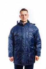 Куртка SUBERIA с капюшоном темно-синяя XXXL...