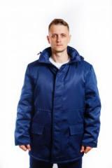 Куртка 3003 ватная Механик темно-синяя 56-58/3-4 (04001)