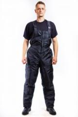 Working overalls and trousers