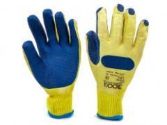 Перчатки 3003 трикотажные с латексным покрытием (63005)