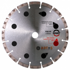 Диск алмазный ADTnS 1A1RSS/C3-H 230x2,6/1,8x10x22,23-16 CHH 230/22,23 RM-W Smart (34315380017)