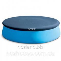 Тент для надувного круглого бассейна 244 см Intex