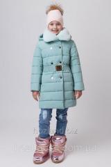Зимняя куртка для девочки ZKD-2 мята