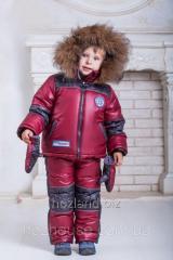 Зимние костюмы-комбинезоны