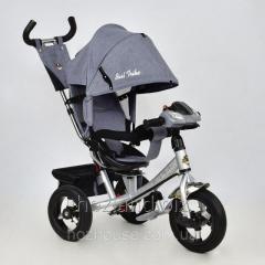 Велосипед трехколесный с поворотным сиденьем Best Trike 7700 В – 5340 (ткань Лен)