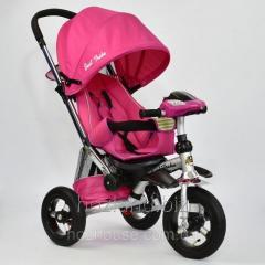 Велосипед-коляска Best Trike 698-2 с опускающейся спинкой (розовый)
