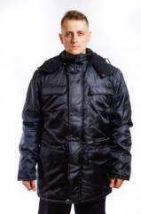 Куртка зимняя 3003 Патриот черная р.60-62/5-6
