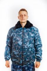 Куртка зимняя 3003 Пилот Город камуфлированна