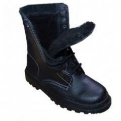Ботинки с завышенными берцами Омон утепленные