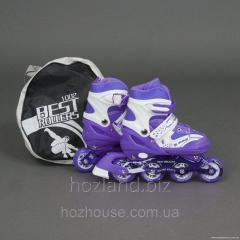 Ролики Best Rollers 1002 «M (35-38)» фиолетовые