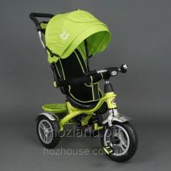 Детский трехколесный велосипед (надувные колеса)