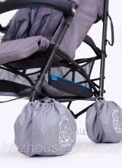 Чехлы для колес коляски