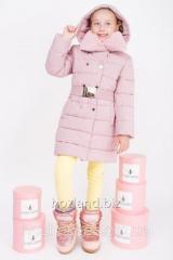 Зимняя куртка для девочки ZKD-2 розовая
