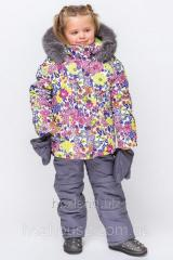 Зимний комбинезон для девочки KD-2 Принт 18
