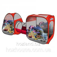"""Игровая палатка с туннелем M 2960 """"Машинки"""""""