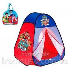 Детская палатка 817 Щенячий патруль