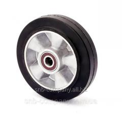 Wheel without bracket with ball bearing series