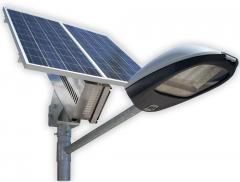 Фонари на солнечных батареях