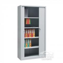 Шкаф архивный с роллетными дверями для документов