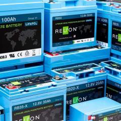 RELION - Литиевые аккумуляторы Li-Ion АКБ тип LiFePO4 (США)