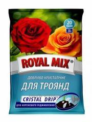 Кристалическое удобрение ROYAL MIX CRISTAL DRIP  ДЛЯ РОЗ