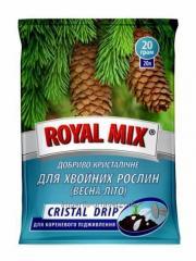 Удобрение Royal Mix Cristal Drip для хвойных растений: весна-лето
