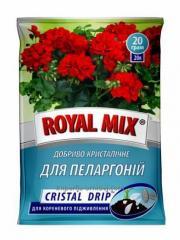 Удобрение Royal Mix Cristal Drip для пеларгоний