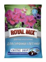 Удобрение Royal Mix Cristal Drip для сурфиний и петуний