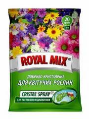 Удобрение Royal Mix Сristal Spray для цветущих растений