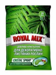Удобрение Royal Mix Сristal Spray для декоративно-лиственных растений