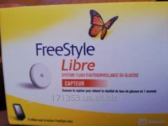Сенсор Freestyle Libre для круглосуточного