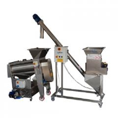 Semi-automatic line for the production of juice of